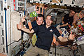 ISS-34 crew with fresh food.jpg