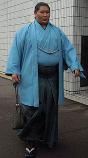 Ichinojō Takashi Mongolian sumo wrestler