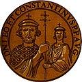 Icones imperatorvm romanorvm, ex priscis numismatibus ad viuum delineatae, and breui narratione historicâ (1645) (14560071889).jpg