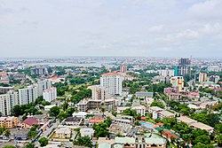 Ikoyi with Lekki in the background