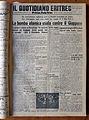 Il quotidiano eritreo, 8 agosto 1945, bomba atomica su hiroshima.JPG