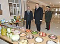 Ilham Aliyev attended opening of soldier dormitory and military-household complex in military unit of Detached Combined Arms Army 9.jpg