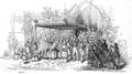 Illustrirte Zeitung (1843) 23 364 Das Allerheiligste bei dem Ausgang aus der Kirche zu Unserer lieben Frauen.png