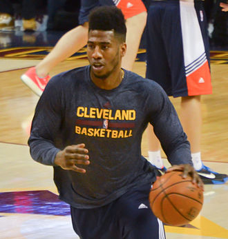 Iman Shumpert - Shumpert with the Cavaliers in January 2015