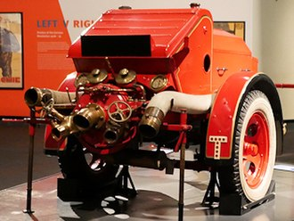 Dennis Specialist Vehicles - Wartime fire pump