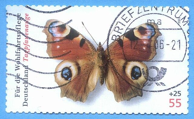 640px-Inachis_io_stamp_deutschland.JPG