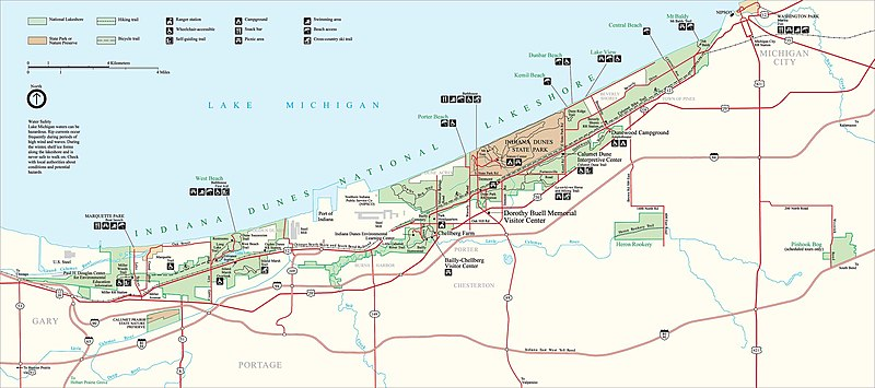 Indana Dunes National Lakeshore NPS map.jpg