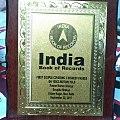 India Book Of records Award.jpg