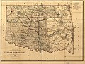 Indian territory- compiled from the official records of the records of the General Land Office and other sources under supervision of Geo. U. Mayo. LOC 98687105.jpg