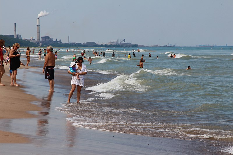 File:Indiana Dunes State Park, on the southern tip of Lake Michigan.jpg