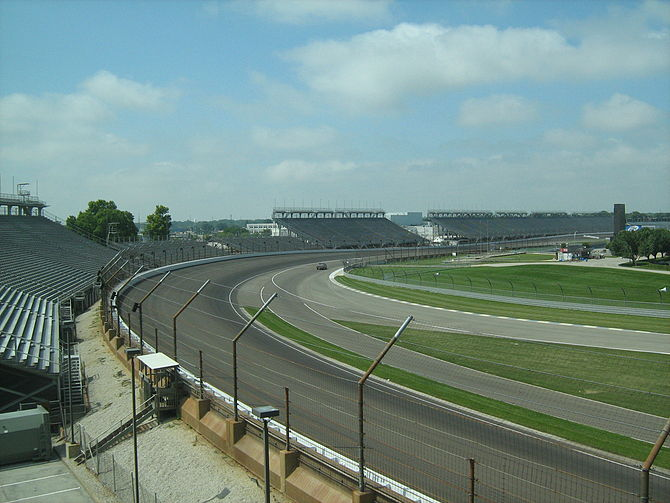 Indianapolis Motor Speedway - the track