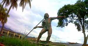 Pijao people - Statue of a Pijao in Ibagué