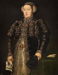 Antonis Mor: Catherine of Hapsburg, the Wife of King John III of Portugal