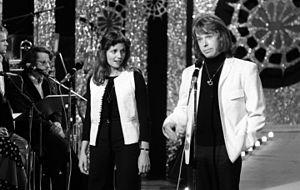 Inger Lise Rypdal - Rypdal with Stein Ingebrigtsen in 1974.