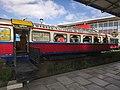 Ingreso de pasajeron estacion del tren en La Paz.jpg