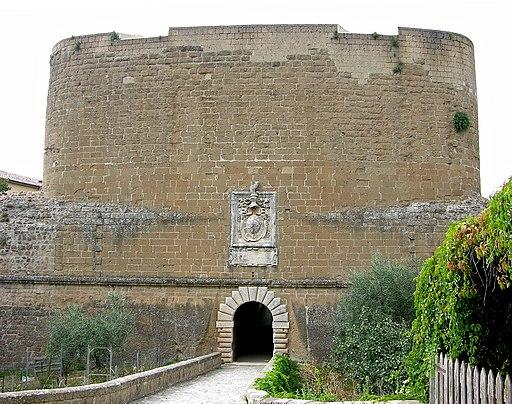 Ingresso Fortezza Orsini di Sorano