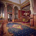 Interieur, bel-etage, voorzijde rechts (Vestibule van de Koninklijke Wachtkamer), interieur, Kamer met 19de eeuwse muurschilderingen en betimmering - Amsterdam - 20392802 - RCE.jpg
