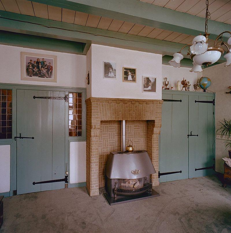 Oud Hollandse Keuken Kleuren : interieur, overzicht voorkamer – linschoten – 20333014 – rce