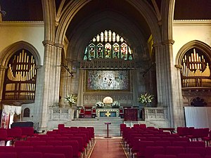 Fourth Universalist Society in the City of New York - Interior of Sanctuary, Front