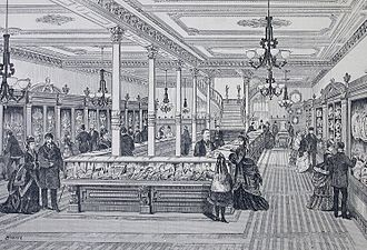 Henry Birks - The Savage and Lyman store on St. James Street, 1875