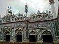 Interior of Beautiful Sunni Mosque at Main Road Tariq Bin Zyad Colony, Sahiwal - panoramio (1).jpg
