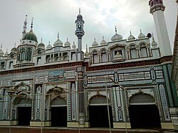 Interior of Beautiful Sunni Mosque at Main Road Tariq Bin Zyad Colony, Sahiwal - panoramio (1).jpg