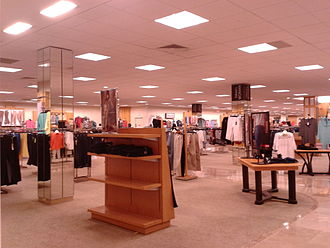 Dillard's - Interior of a Dillard's store, Greensboro, North Carolina