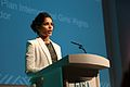 International actress and Plan International Girls' Rights Ambassador, Freida Pinto, speaking at Girl Summit 2014 (14721738191).jpg