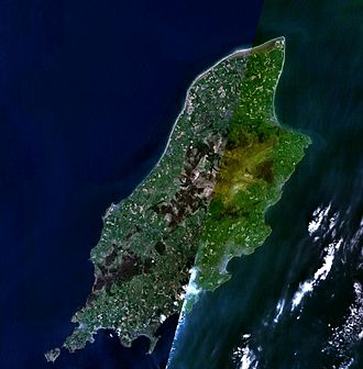 Isle of Man - A composite satellite image