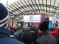 Iranska flyktingars riksförbund at demonstration against Swedish migration policy in Stockholm.JPG