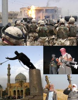 Iraq War montage