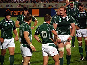 Ireland vs Georgia, Rugby World Cup 2007. Stad...