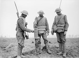 Irish Guards - Irish Guardsman in The First World War at the Battle of Pilckem Ridge 1917