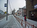 Irkutsk. February 2013. Cinema Barguzin, regional court, bus stop Volga, Diagnostic Center. - panoramio (56).jpg