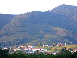 A general view of Ispoure