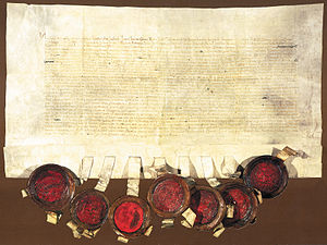 Election in Cetin - The charter from Cetingrad is preserved in the Austrian State Archives in Vienna.