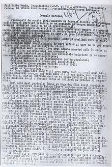 Iuliu Maniu and IC Bratianu 1942 memorium for Ion Antonescu.jpg