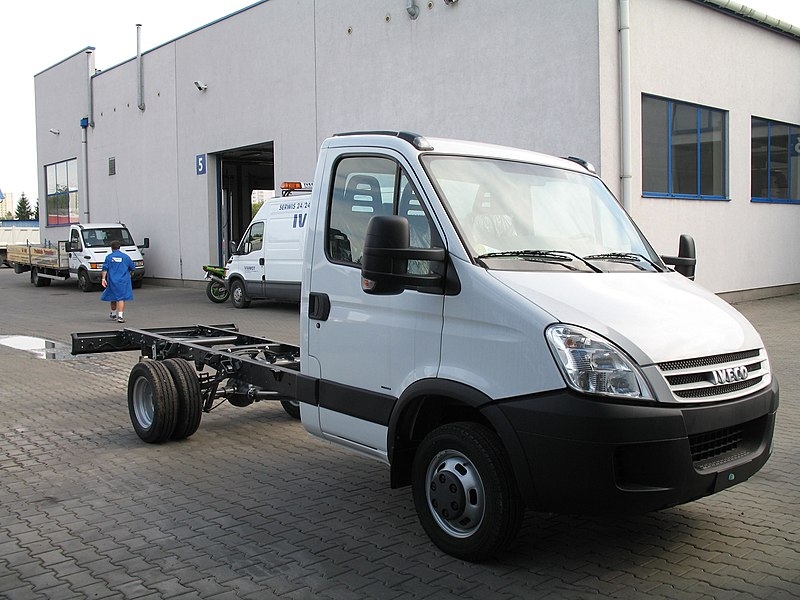 Iveco Daily Chassis Cab Van