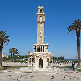 Izmir square clock tower.jpg