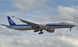 Boeing 777-300ER der All Nippon Airways