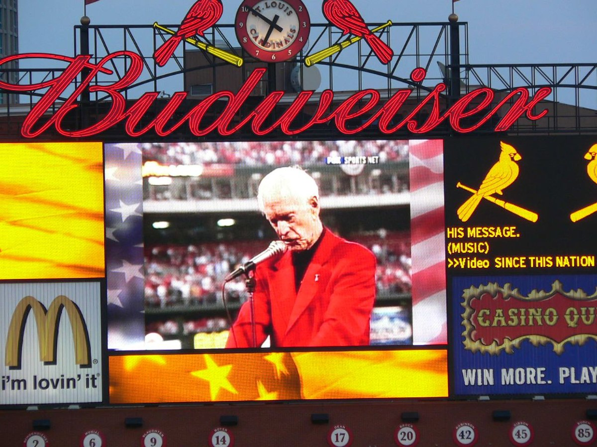 Image result for JACK BUCK'S 9/11 SPEEACH AT BUSCH STADIUM
