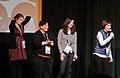 Jackie Monahan, Lisa Haas, Laura Terruso and Madeleine Olnek (12064086235).jpg