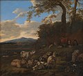 Jacob van der Does d.Æ. - The Flock of Sheep - KMSsp518 - Statens Museum for Kunst.jpg