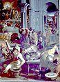 Jacopo Coppi Invención de la polvora en 1313 Studiolo.jpg