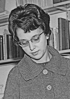 1935 in France - Jacqueline Naze Tjøtta in 1966