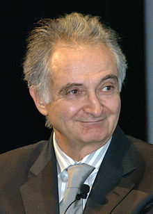 Jacques Attali, French economist, at the MART in Rovereto for the Festival of the City-Enterprise.