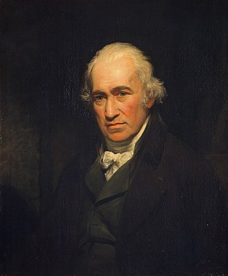 James Watt - James Watt by John Partridge, after Sir William Beechey (1806)