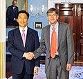 James B. Steinberg and Li Yuanchao 2009.jpg