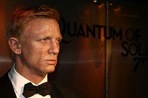Daniel Craig - Daniel Craig Statue in Madame Tussauds