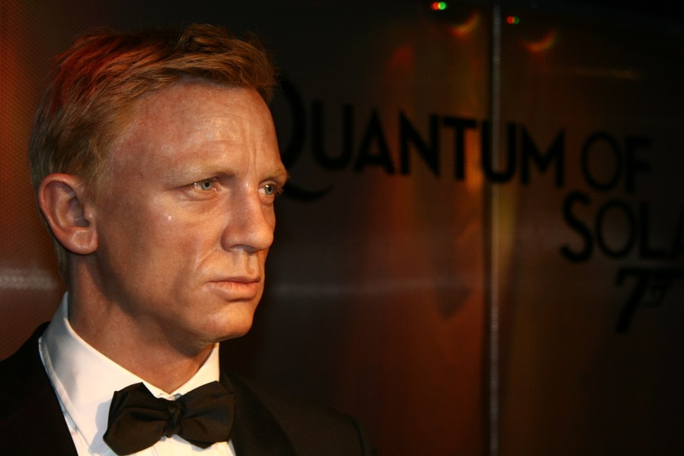 James Bond at Madame Tussauds, London